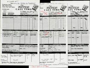 Closed Set! - Pulp Fiction Casting Calls