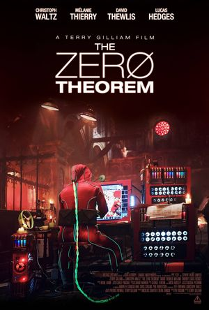 Poster for Terry Gilliam's The Zero Theorem