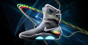 Nike promise Back To The Future power laces in 2015