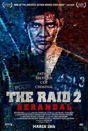 Indonesian poster for The Raid 2: Berandal