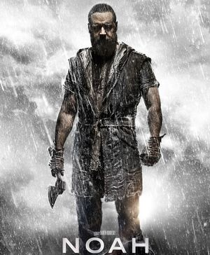 Russell Crowe, dark eyes and more rain, Noah