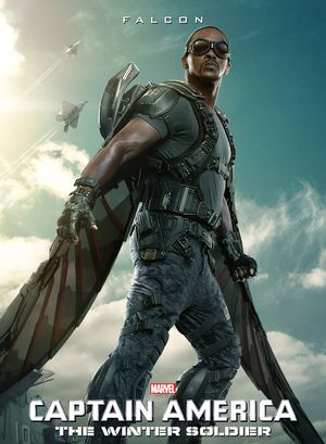 The Falcon character poster for Captain America: The Winter