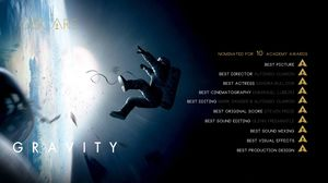 Gravity nominated for 10 Academy Awards