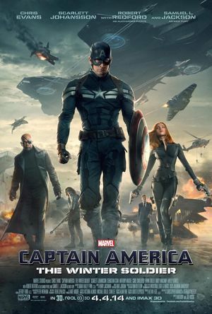 Latest Captain America: The Winter Soldier poster