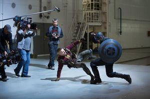 Piecing together a fight scene in Captain America: The Winte