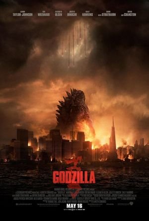 Latest poster for Godzilla