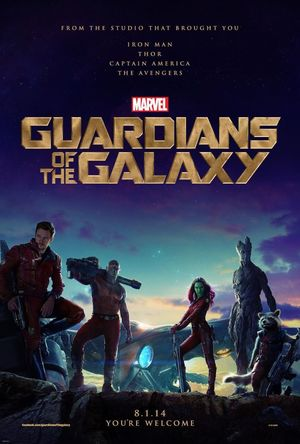 First official poster for Guardians Of The Galaxy