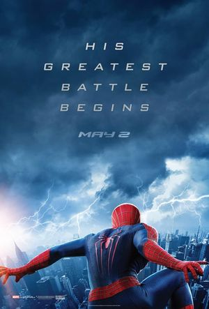 New teaser poster for The Amazing Spider-Man 2