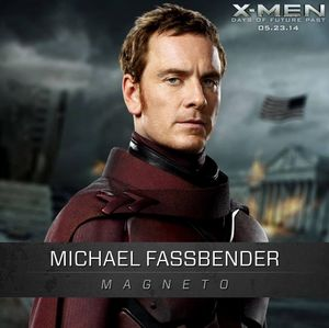 Michael Fassbender as Magneto in X-Men: Days Of Future Past