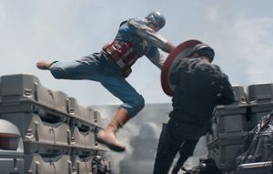 Captain America: The Winter Soldier smash
