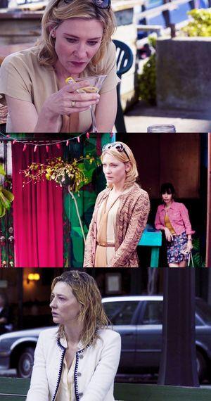 Cate Blanchett as socialite Jasmine