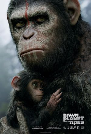 Latest poster for Dawn of the Planet of the Apes