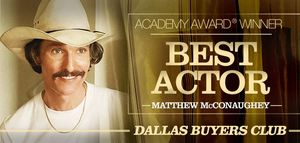 Matthew McConaughey winner Best Actor OSCAR®