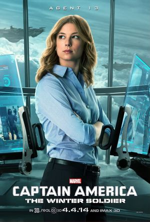 Agent 13 in Captain America: The Winter Soldier