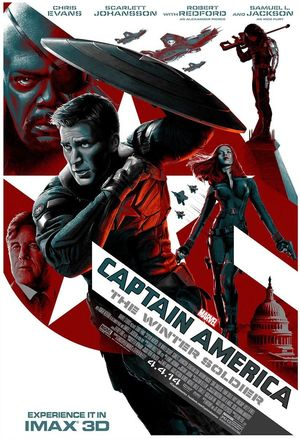 iMAX 3D Poster for Captain America: The Winter Soldier