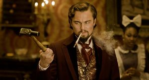 Di Caprio shows a talent for dark comedy in Django Unchained