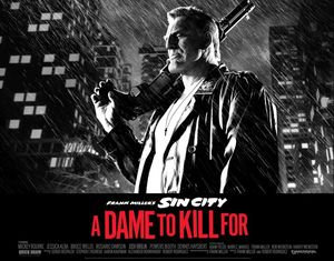 Mickey Rourke in Sin City: A Dame To Kill For