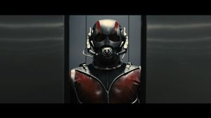 The face of Ant-Man