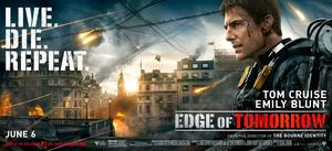 Tom Cruise is ready for war in Edge of Tomorrow banner