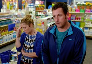 Adam Sandler and Drew Barrymore together again in the superm