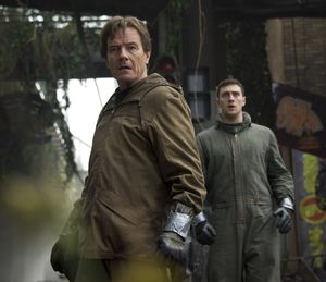 Breaking Bad's Bryan Cranston in Godzilla