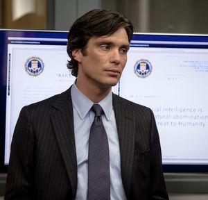 Cillian Murphy as Agent Buchanan in Transcendence
