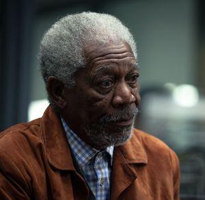 Morgan Freeman stunned in Transcendence