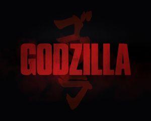 Godzilla Japanese Kanji logo