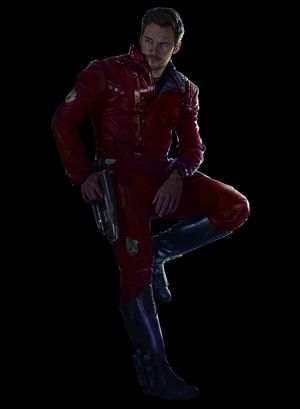 Chris Pratt as Star-Lord / Peter Quill character