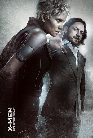 Storm and Charles Xavier