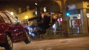 Channing Tatum and Mila Kunis fly in Jupiter Ascending
