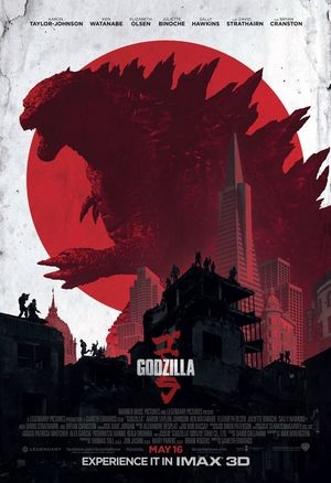 IMAX Poster for Godzilla