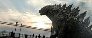Up close and personal with Godzilla