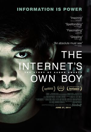 The Internet's Own Boy Official Poster, release June 27