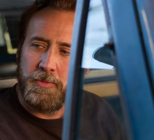 Bearded Nicolas Cage as Joe