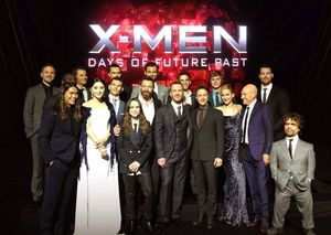 The biggest superhero cast ever, unites for the global premi