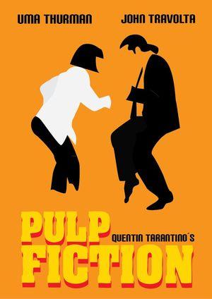 Pulp Fiction Minimal Movie Poster #1