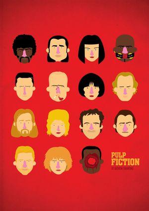 Pulp Fiction Minimal Movie Poster #2