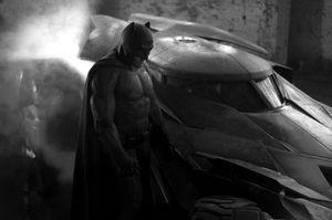 First look at Ben Affleck as Batman