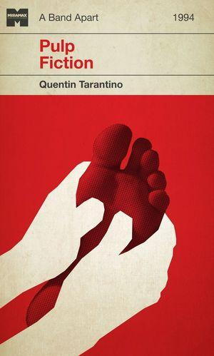 Pulp Fiction Minimal Movie Poster #4