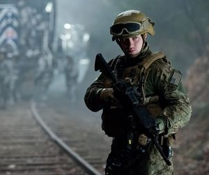 Aaron Taylor-Johnson is a US Navy Lieutenant in Godzilla