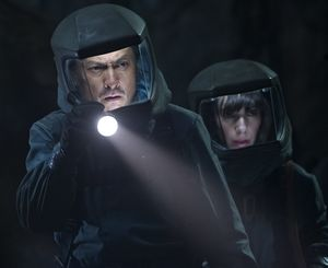 Ken Watanabe and Sally Hawkins suit up in Godzilla