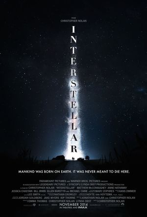 First Official Poster for Christopher Nolan's, Interstellar