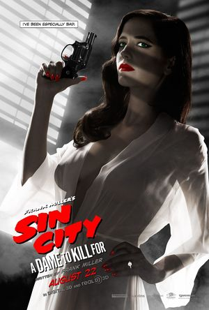 The MPAA rejected this Eva Green poster for Sin City: A Dame