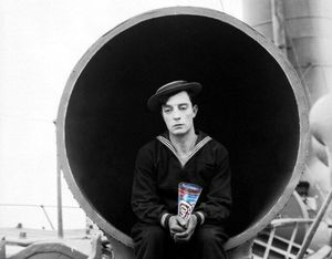 Edgar Wright tweets (then deletes) photo of Buster Keaton