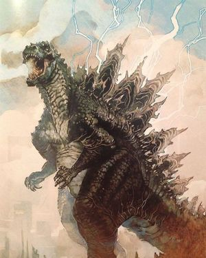 Alternative Godzilla Concept Design #1