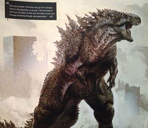 Alternative Godzilla Concept Design #2