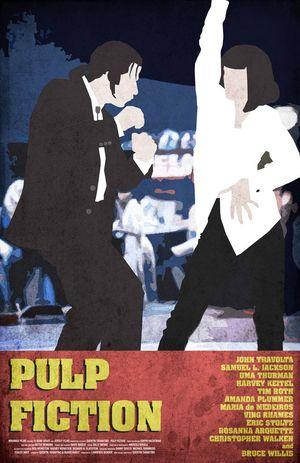 Pulp Fiction Minimal Movie Poster #7