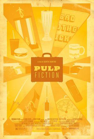 Pulp Fiction Minimal Movie Poster #9