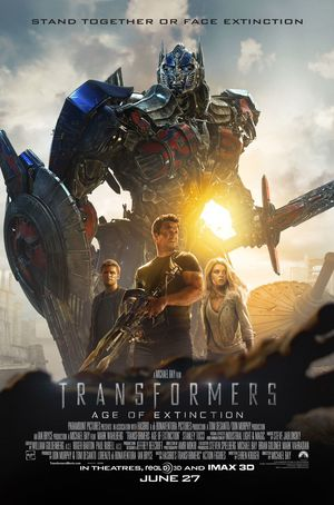 The cast is ready for battle on the new Transformers: Age of